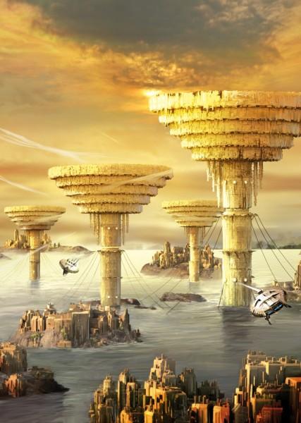 Galakto City von Dirk Schulz